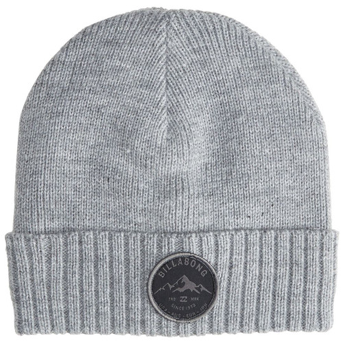 Billabong Knitted Cuff Beanie ~ Ridge Polar grey