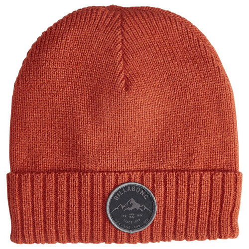 Billabong Knitted Cuff Beanie ~ Ridge Polar magma