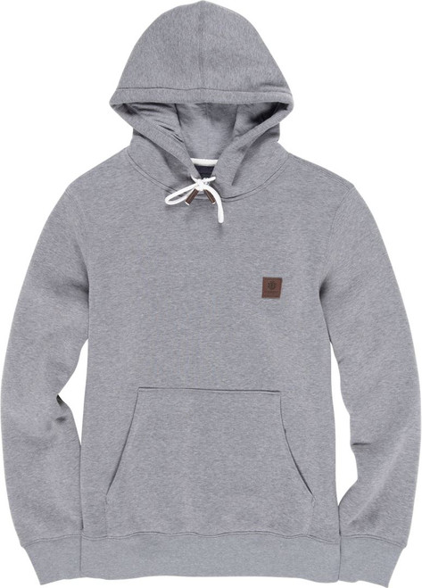 Element Men's Brushed Hooded Fleece ~ Heavy Ho grey