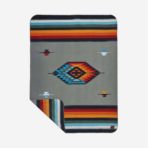 Slowtide Reversible Fleece Blanket ~ Valen blanket