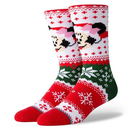Stance Foundation Mens Socks ~ Minnie Claus
