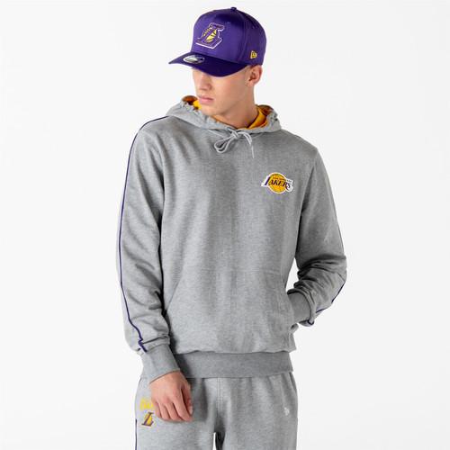New Era and NBA Piping Hoody ~ LA Lakers