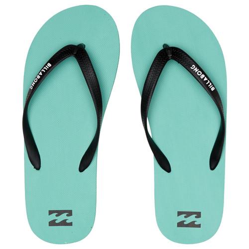 Billabong Water Resistant Mens Sandals ~ Tides Solid aqua