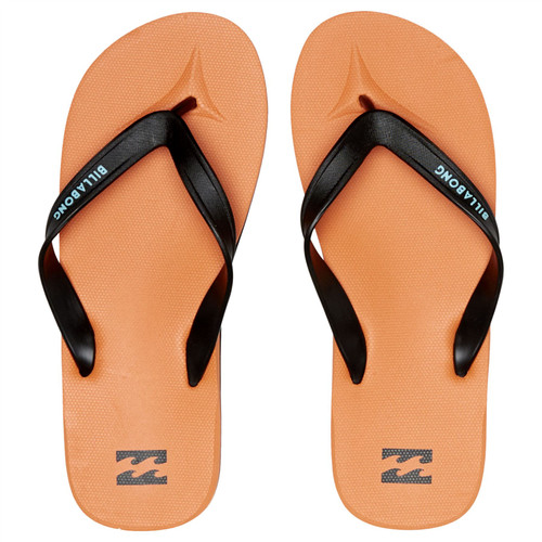 Billabong Water Resistant Mens Sandals ~ All Day orange