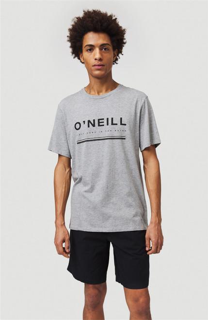 O'Neill Men's T-Shirt ~ Arrowhead silver