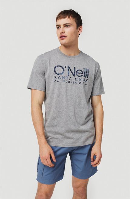 O'Neill Men's T-Shirt ~ Logo silver