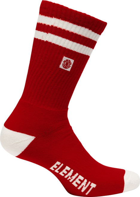 Element Athletic Socks ~ Clearsight chili pepper