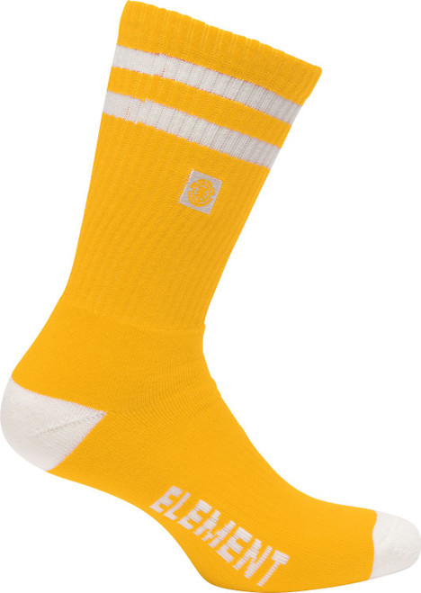Element Athletic Socks ~ Clearsight gold