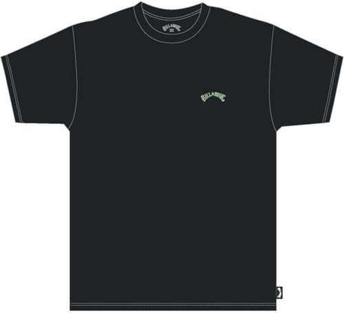 Billabong Men's T-Shirt ~ Arch Washed black