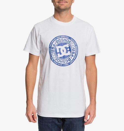 'DC Shoes' Men's T-Shirt ~ Circle Star white