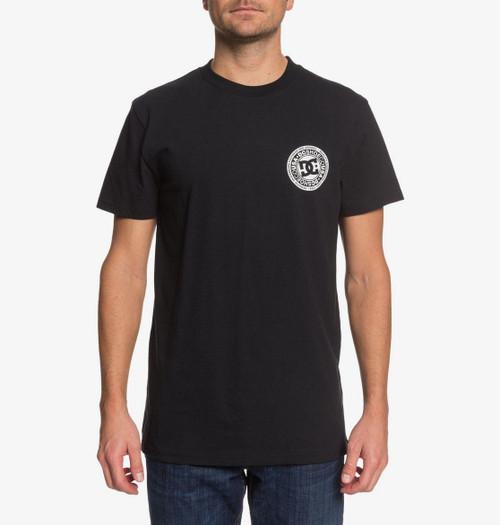 DC Shoes' Men's T-Shirt ~ Circle Star FB black