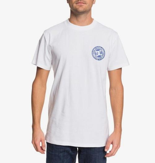 DC Shoes' Men's T-Shirt ~ Circle Star FB white