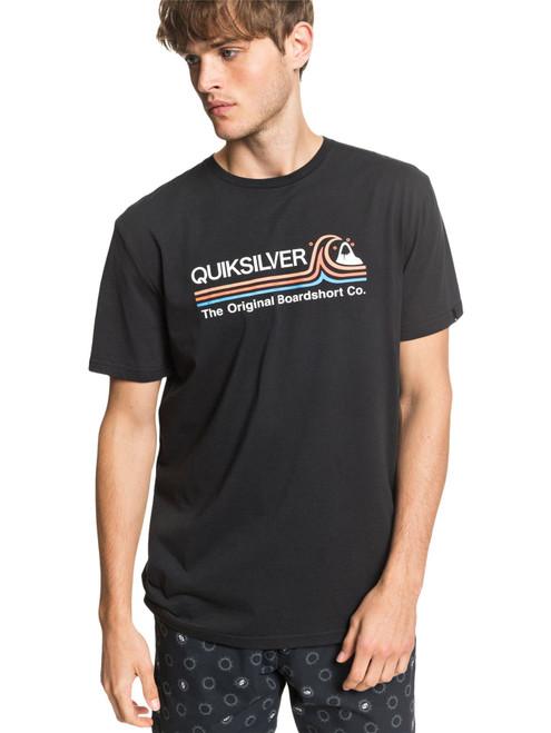 Quiksilver Men's T-Shirt ~ Stone Cold black