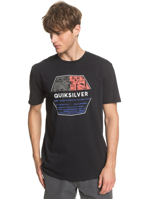 Quiksilver Men's T-Shirt ~ Drift Away black
