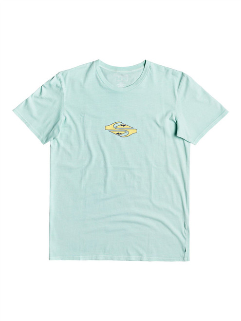 Quiksilver Men's T-Shirt ~ Either Way green
