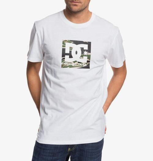 DC Shoes' Men's T-Shirt ~ Square Star white