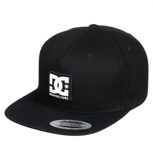 DC Shoes Mens Snapback Cap ~ Snapdripp black