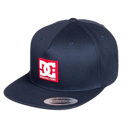 DC Shoes Mens Snapback Capp ~ Snapdripp navy
