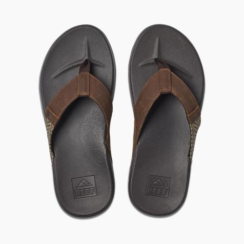 Reef Mens Sandals ~ Cushion Bounce Phantom SE brown tan