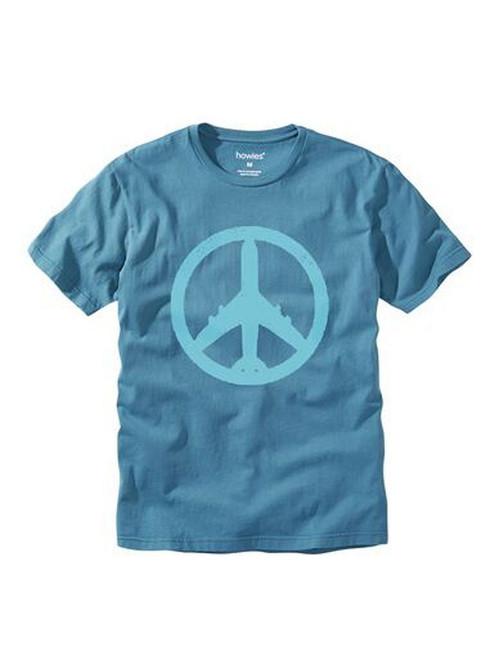 howies Men's Organic Cotton T-Shirt ~ Peace Plane