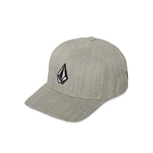 Volcom Men's Flexfit Curve Cap ~ Full Stone Heather XFit grey