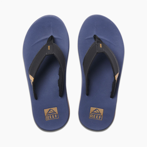 Reef Mens Sandals With Bottle Opener ~ Fanning Low navy