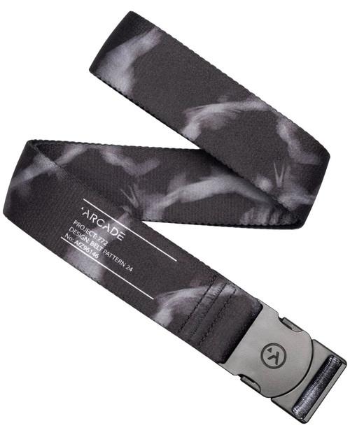 Arcade Adventure Range Web Belt ~ Rambler Info Label tie dye