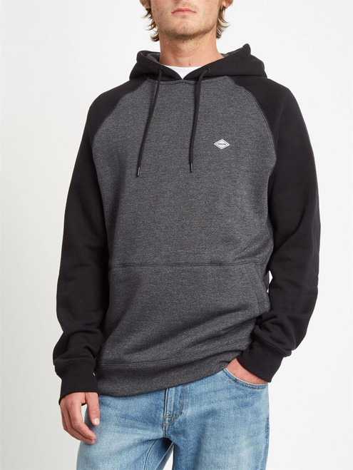 Volcom Fleece Hoody ~ Homak Heather Grey
