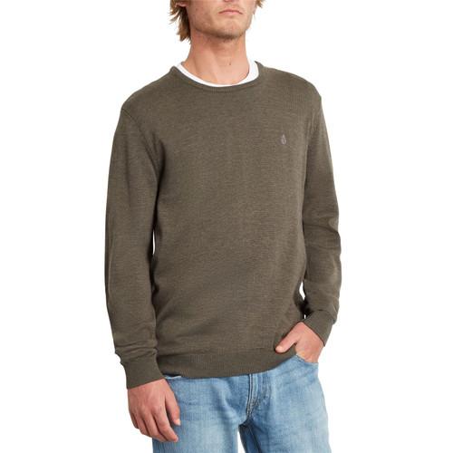 Volcom Men's Crew Neck Sweater ~ Uperstand lead