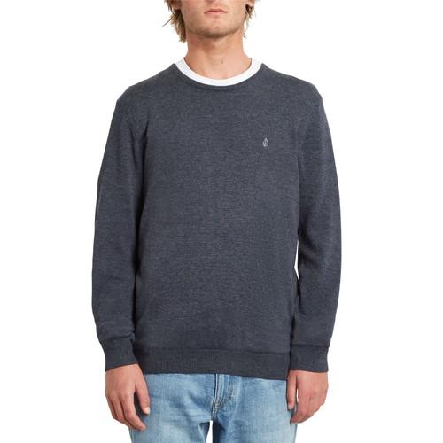 Volcom Men's Crew Neck Sweater ~ Uperstand navy