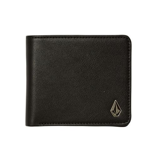 Volcom Bifold Wallet ~ Slimstone black