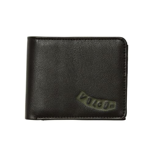 Volcom Bifold Wallet ~ Pistol black