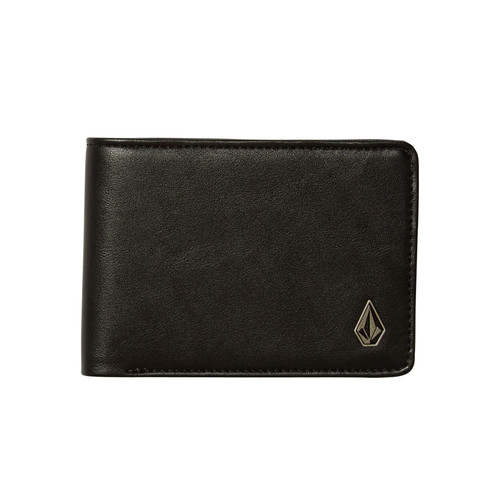 Volcom Bifold Wallet ~ Stranglong black