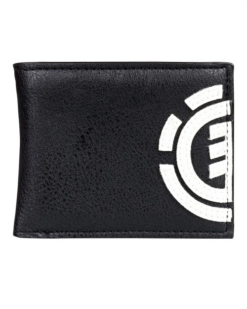 Element Bifold Wallet with CC, Note and Coin Pockets ~ Daily flint black