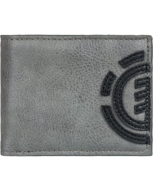 Element Bifold Wallet with CC, Note and Coin Pockets ~ Daily steeple grey