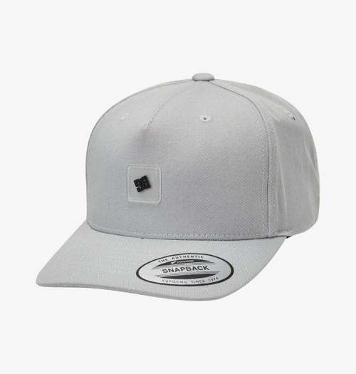 DC Shoes Mens Snapback Cap ~ Snapdripp2 grey