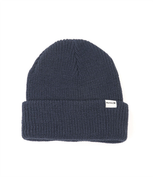 Hurley Knitted Cuff Beanie ~ Harbor black