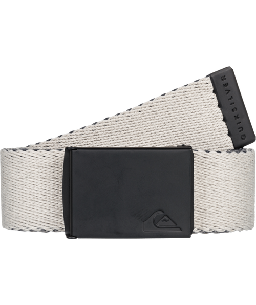 Quiksilver Woven Reversible Web Belt With Bottle Opener ~ The Jam blue stone
