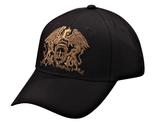 Queen Adjustable Cap ~ Gold Crest