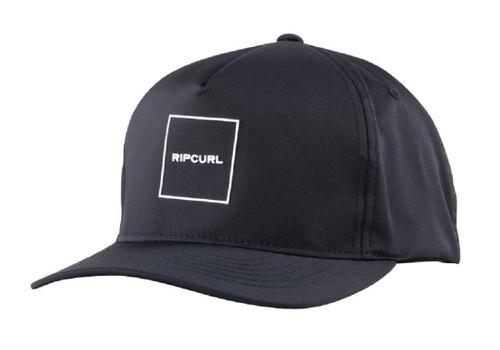 Rip Curl Men's Snapback Cap ~ 10M SB black