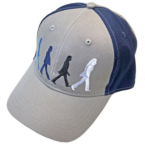 Beatles Snapback Adjustable Cap ~ Abbey Road Figures grey