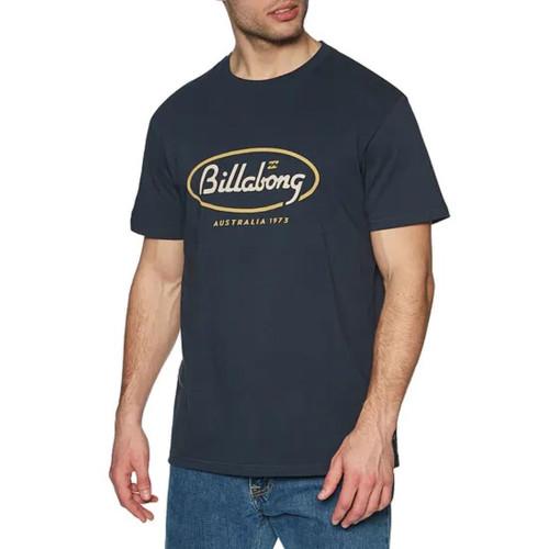 Billabong Men's Premium T-Shirt ~ State Beach navy