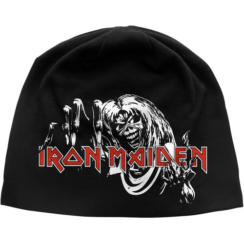 Iron Maiden Knit Skull Beanie ~ Number Of The Beast
