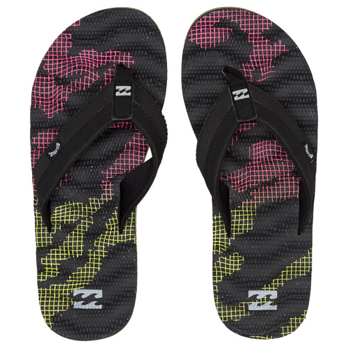 Billabong Water Resistant Mens Sandals ~ Dunes Resistance black