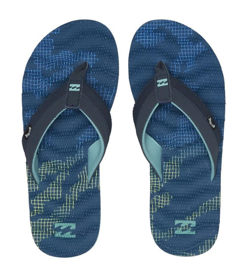 Billabong Water Resistant Mens Sandals ~ Dunes Resistance navy