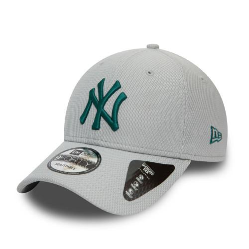 New Era 9Forty Diamond Era Cap ~ New York Yankees grey