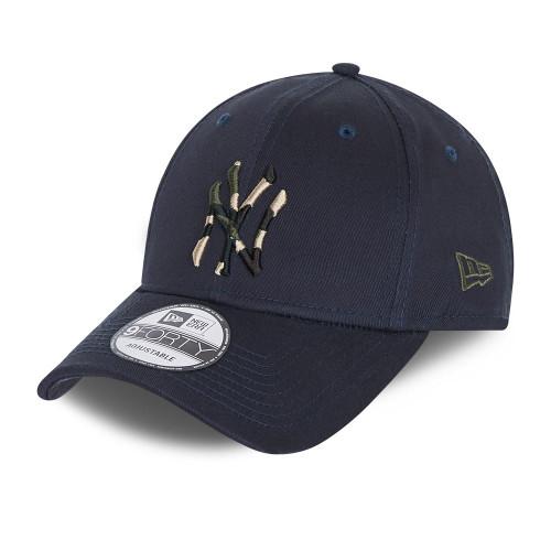 New Era Camo Infill 9Forty Cap ~ New York Yankees navy