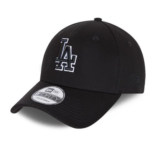 New Era Black Base 9Forty Snapback cap ~ LA Dodgers black