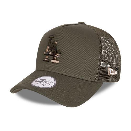 New Era Camo Infill Snapback Trucker Cap ~ LA Dodgers military