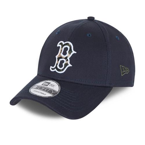 New Era Camo Infill 9Forty Cap ~ Boston Red Sox navy